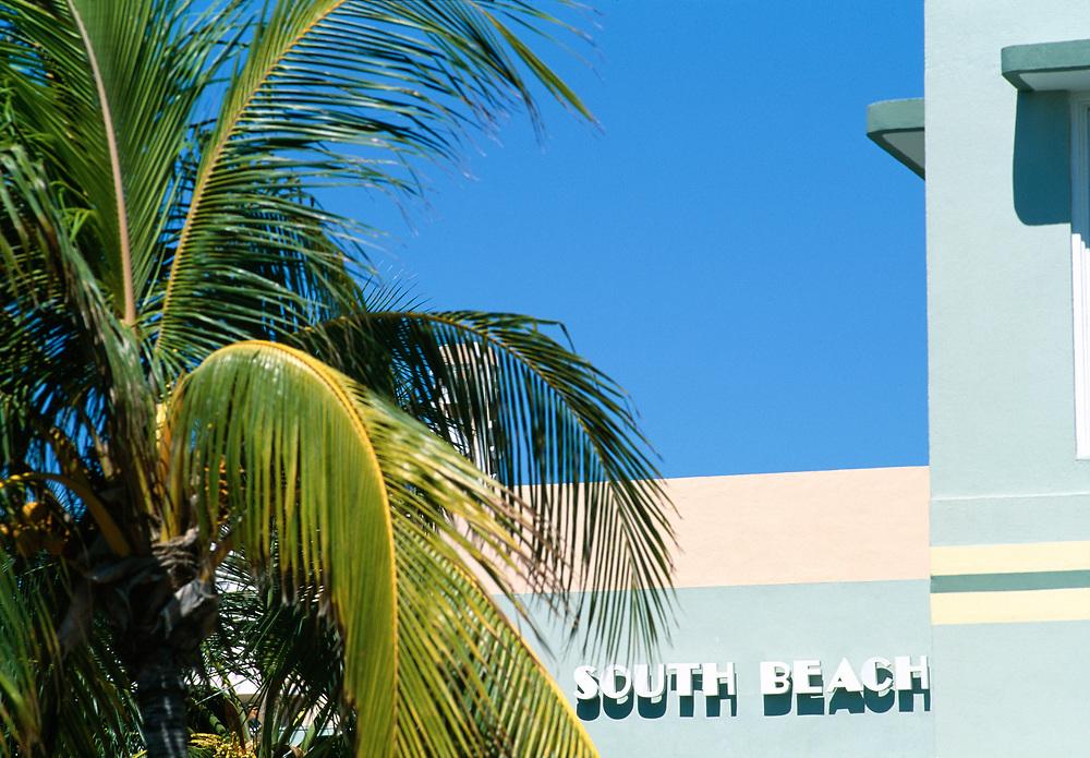 South Beach, the deco district, South Beach, Miami, Florida