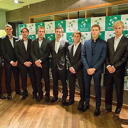 20151028: SLO, Tennis - Dinner at Davis Cup Slovenia vs Lithuania