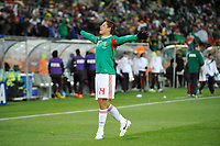 FOOTBALL - FIFA WORLD CUP 2010 - GROUP STAGE - GROUP A - FRANCE v MEXICO - 16/06/2010 - PHOTO GUY JEFFROY / DPPI - JOY JAVIER HERNANDEZ (MEX) AFTER HIS GOAL
