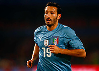 Gianluca Zambrotta of Italy and Milan FIFA Confederations Cup South Africa 2009 <br /> United States of America  v Italy at Loftus Versfeld  Stadium Tshwane/Pretoria South Africa<br /> 15/06/2009 Credit Colorsport / Kieran Galvin