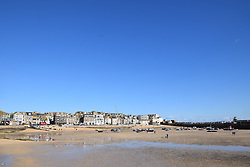 Harbour Sand, St Ives, Cornwall UK Oct 2020