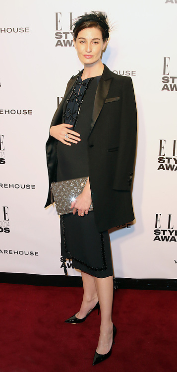 Erin O'Connor, ELLE Style Awards, One Embankment, London UK, 18 February 2014, Photo by Richard Goldschmidt