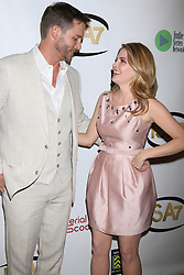 Eric Martsolf, Jen Lilley at the 7th Annual Indie Series Awards at the El Portal Theater on April 6, 2016 in North Hollywood, CA. EXPA Pictures © 2016, PhotoCredit: EXPA/ Photoshot/ Kerry Wayne<br /> <br /> *****ATTENTION - for AUT, SLO, CRO, SRB, BIH, MAZ, SUI only*****