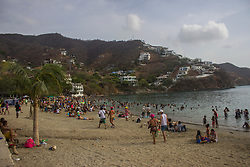 Santa Marta, Colombia - 4/30/2017 - A cloudy day in Taganga(Photo by Daniel Garzon/VWPics) *** Please Use Credit from Credit Field *** *** Please Use Credit from Credit Field ***