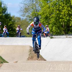 05-05-2020: Wielrennen: BMX KNWU: Papendal<br />Merle van Benthem