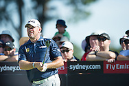 Lee Westwood in action during the opening round of the Australian Open at The Australian Golf Club, Sydney (Photo: Anthony Powter)
