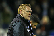 Bradford City Manager David Hopkin during the EFL Sky Bet League 1 match between Luton Town and Bradford City at Kenilworth Road, Luton, England on 27 November 2018.