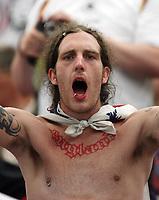 Photo: Chris Ratcliffe.<br /> England v Portugal. Quarter Finals, FIFA World Cup 2006. 01/07/2006.<br /> England fans.