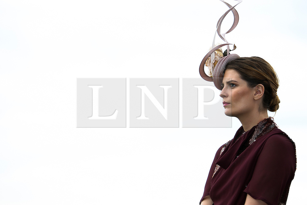 © Licensed to London News Pictures. 06/11/2012. Hollywood actress and model Mischa Barton during the Emirates Melbourne Cup at the Flemington Racecourse, Melbourne. Photo credit : Asanka Brendon Ratnayake/LNP