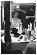 Claudia Schiffer, Valentino, , Paris couture shows. 1991