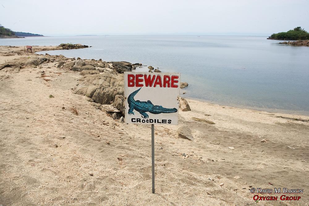 Beware Of Cocodiles Sign