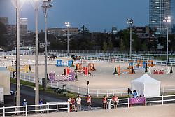 Training fields Equestrian Park<br /> Olympic Games Tokyo 2021<br /> © Hippo Foto - Dirk Caremans<br /> 26/07/2021