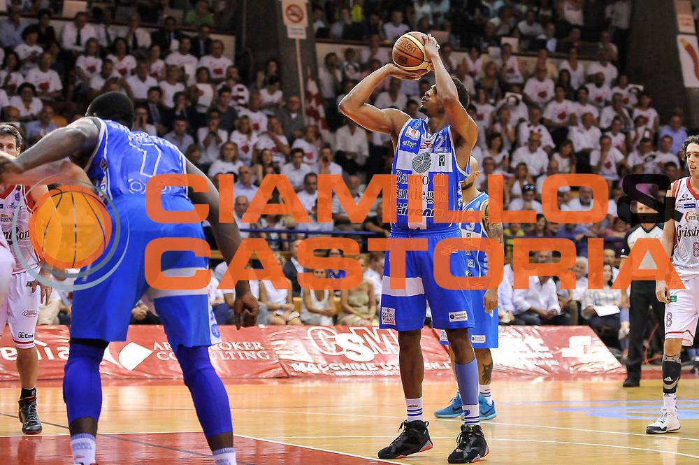 DESCRIZIONE : Campionato 2014/15 Serie A Beko Grissin Bon Reggio Emilia - Dinamo Banco di Sardegna Sassari Finale Playoff Gara7 Scudetto<br /> GIOCATORE : Jeff Brooks<br /> CATEGORIA : Tiro Libero<br /> SQUADRA : Dinamo Banco di Sardegna Sassari<br /> EVENTO : LegaBasket Serie A Beko 2014/2015<br /> GARA : Grissin Bon Reggio Emilia - Dinamo Banco di Sardegna Sassari Finale Playoff Gara7 Scudetto<br /> DATA : 26/06/2015<br /> SPORT : Pallacanestro <br /> AUTORE : Agenzia Ciamillo-Castoria/L.Canu
