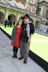 RON ARAD and ALMA ARAD at the preview party for The Royal Academy Of Arts Summer Exhibition 2013 at Royal Academy of Arts, London on 5th June 2013.