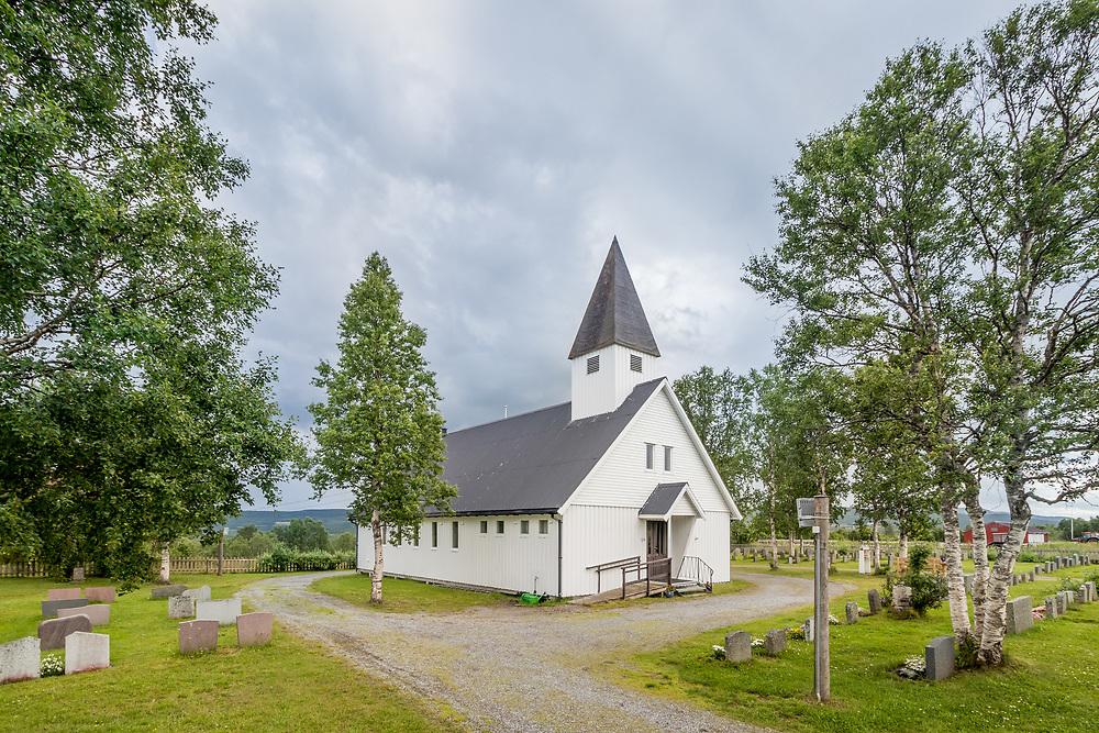 Sandbakken kapell er en langkirke fra 1974 i Lenvik kommune, Troms fylke.