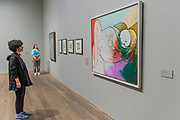 Sleeping nudes with Blonde Hair - The EY Exhibition: Picasso 1932 – Love, Fame, Tragedy a new exhibition at the Tate Modern.  It brings together over 100 works made by Pablo Picasso (1881–1973) during 1932, one of the most intensely creative periods in his life.