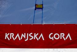 Feature during 2nd Run of 8th Men's Giant Slalom - Pokal Vitranc 2012 of FIS Alpine Ski World Cup 2011/2012, on March 10, 2012 in Vitranc, Kranjska Gora, Slovenia.  (Photo By Vid Ponikvar / Sportida.com)