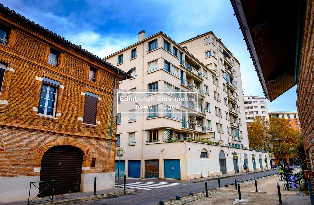 Housing near the Canal du Midi, Toulouse, France<br /> <br /> (c) Andrew Wilson | Edinburgh Elite media