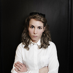 """Actress Noomi Rapace annoucing the upcoming shooting of """"The Nazi Officer's Wife"""" by Barthelemy Grossmann"""" at the 63rd Cannes Film Festival. France. 16 May 2010. Photo: Antoine Doyen"""
