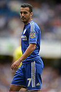 Pedro of Chelsea looking on. Barclays Premier League, Chelsea v Crystal Palace at Stamford Bridge in London on Saturday 29th August 2015.<br /> pic by John Patrick Fletcher, Andrew Orchard sports photography.