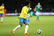 Willian (Brazil) during the International Friendly Game football match between Germany and Brazil on march 27, 2018 at Olympic stadium in Berlin, Germany - Photo Laurent Lairys / ProSportsImages / DPPI