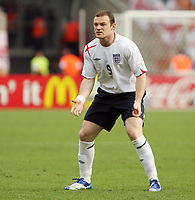 Photo: Chris Ratcliffe.<br /> England v Trinidad & Tobago. Group B, FIFA World Cup 2006. 15/06/2006.<br /> Wayne Rooney.