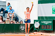 Ball boys and girls Ambiance during the Roland Garros French Tennis Open 2018, Preview, on May 21 to 26, 2018, at the Roland Garros Stadium in Paris, France - Photo Pierre Charlier / ProSportsImages / DPPI