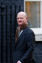 © Licensed to London News Pictures. 26/11/2013. London, UK. Minister of State for Universities and Science, David Willetts, arrives for a meeting of British Prime Minister David Cameron's Cabinet on Downing Street in London today (26/11/2013). Photo credit: Matt Cetti-Roberts/LNP