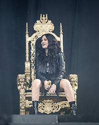 Jessie J plays the main stage. Saturday, 11th July 2015, day two at T in the Park 2015, at its new home at Strathallan Castle.