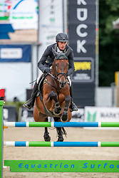 RÜDER Hans Thorben (GER), SINGU<br /> Münster - Turnier der Sieger 2019<br /> BRINKHOFF'S NO. 1 -  Preis<br /> CSI4* - Int. Jumping competition  (1.50 m) -<br /> 1. Qualifikation Grosse Tour <br /> Large Tour<br /> 02. August 2019<br /> © www.sportfotos-lafrentz.de/Stefan Lafrentz