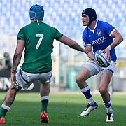 Roma 27/02/2021, Stadio Olimpico<br /> Guinness Six Nations 2021<br /> Italia vs Irlanda <br /> <br /> Carlo Canna