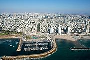 Aerial Photography of Tel Aviv Marina