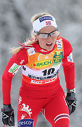 Therese Johaug of Norway at Ladies` Pursuit 7,5 km Classic + 7,5 km Free at FIS Nordic World Ski Championships Liberec 2008, on February 21, 2009, in Vestec, Liberec, Czech Republic. (Photo by Vid Ponikvar / Sportida)