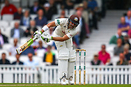 Dean Elgar of Surrey batting during the Specsavers County Champ Div 1 match between Surrey County Cricket Club and Kent County Cricket Club at the Kia Oval, Kennington, United Kingdom on 7 July 2019.