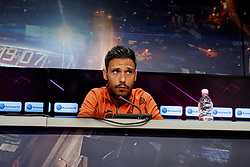 July 23, 2018 - Cluj, Romania - 180723 Camora of Cluj during a press conference and practice ahead the UEFA Champions League qualifying match between Cluj and MalmÅ¡ FF on July 23, 2018 in Cluj..Photo: Ludvig Thunman / BILDBYRN / kod LT / 35509 (Credit Image: © Ludvig Thunman/Bildbyran via ZUMA Press)