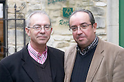 Jean-Jacques Sabon and Denis Sabon owner domaine roger sabon chateauneuf du pape rhone france