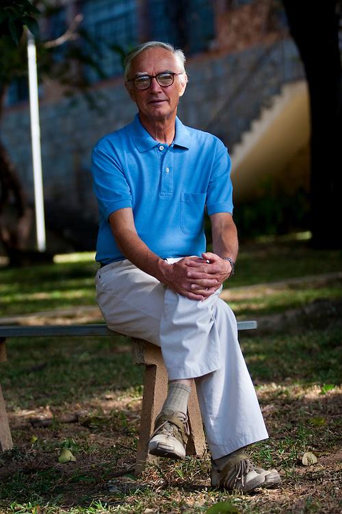 Belo Horizonte_MG, Brasil...Retrato do teologo Joao Batista Libanio...The portrait of the theologian Joao Batista Libanio...Foto: LEO DRUMOND / NITRO