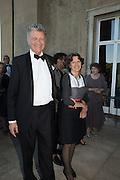 WILLIAM SHAWCROSS; OLGA POLIZZI, Opening of Grange Park Opera, Fiddler on the Roof, Grange Park Opera, Bishop's Sutton, <br /> Alresford, 4 June 2015