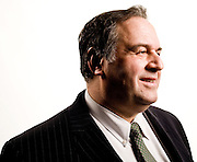 Jeffrey (Jeff) Sonnenfeld, Senior Associate Dean of Executive Programs, the Lester Crown Professor in the Practice of Management at the Yale School of Management, and founder / president of the Chief Executive Leadership Institute.  Photographed by Brian Smale for Fortune Magazine in December2007.