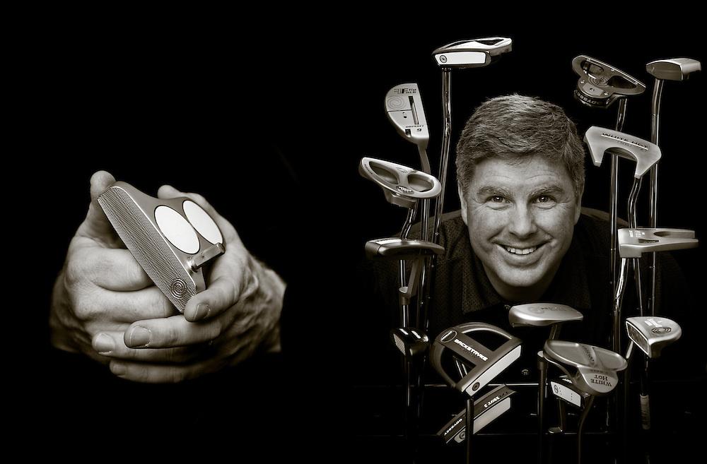 CARLSBAD, CA - DECEMBER 5: Austie Rollinson of Odyssey Golf. Photographed at Callaway Golf headquarters in Carlsbad, California on December 5, 2011. Photograph © 2011 Darren Carroll