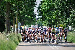 Peloton in the first phase of the race at Boels Hills Classic 2016. A 131km road race from Sittard to Berg en Terblijt, Netherlands on 27th May 2016.