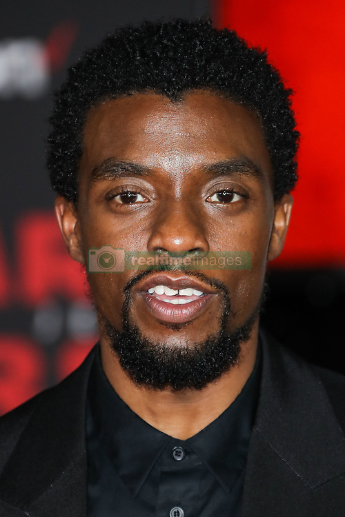 World Premiere Of Disney Pictures And Lucasfilm's 'Star Wars: The Last Jedi' held at The Shrine Auditorium on December 9, 2017 in Los Angeles, California, United States. 09 Dec 2017 Pictured: Chadwick Boseman. Photo credit: IPA/MEGA TheMegaAgency.com +1 888 505 6342