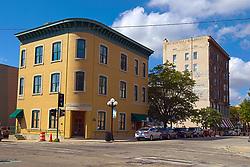 100 block of West Front Street - north side, corner Main Street<br /> <br /> <br /> High Dynamic Range processing (HDR)