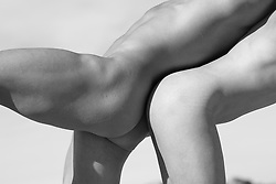 nude man and woman fine art photography