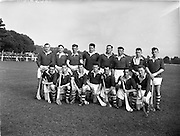 10/10/1956<br /> 10 October 1956<br /> All Army Final: Southern Command v Eastern Command at Phoenix Park, Dublin. Eastern Command Team.