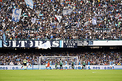 October 29, 2017 - Napoli, Napoli, Italy - Naples - Italy 29/10/2017.Supporters of S.S.C. NAPOLI during Serie A  match between S.S.C. NAPOLI and Sassuolo  at Stadio San Paolo of Naples. (Credit Image: © Emanuele Sessa/Pacific Press via ZUMA Wire)