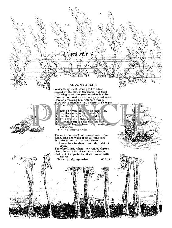 Adventurers (illustrated poem).