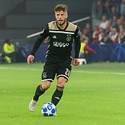 NLD/Amsterdam/20181023 - Champions Leaguewedstrijd  Ajax - SL Benfica, nr.20 Lasse Schöne
