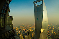 Shanghai World Financial Center, Lujiazui Financial District, Pudong area, Shanghai, China