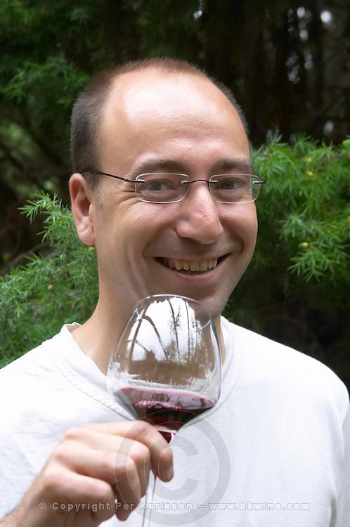 Jean Boucabeille, owner winemaker. Domaine Boucabeille, Corneilla la Riviere, Roussillon, France